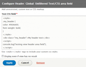 How to create custom view fields programmatically: Unfiltered header area field and content field plugins